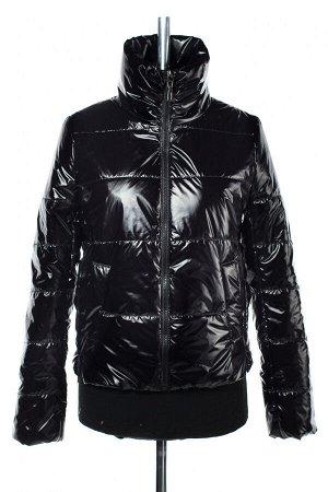 04-2508 Куртка демисезонная (синтепон 100) Плащевка черный