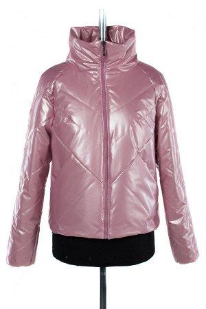 04-2492 Куртка демисезонная (синтепон 60) Плащевка розовый