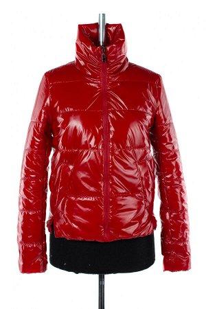 04-2502 Куртка демисезонная (синтепон 100) Плащевка красный