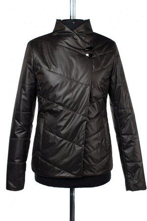 04-2359 Куртка демисезонная University (синтепон 100) Плащевка черный