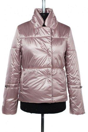 04-2499 Куртка демисезонная (синтепон 100) Плащевка розовый