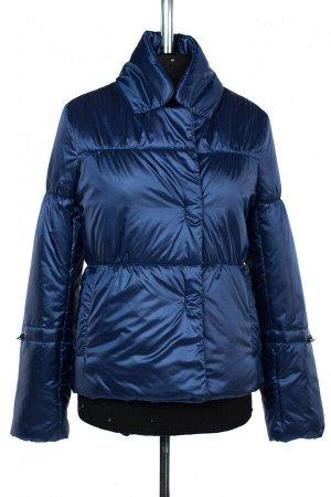 04-2500 Куртка демисезонная (синтепон 100) Плащевка синий