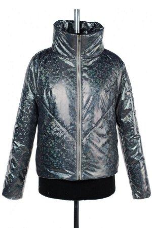 04-2496 Куртка демисезонная (синтепон 100) Плащевка синий