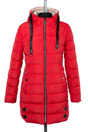 04-2328 Куртка демисезонная (синтепон 200) Плащевка красный