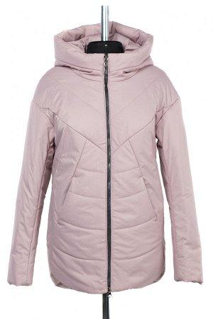 04-2477 Куртка демисезонная (синтепон 150) Плащевка розово-сиреневый