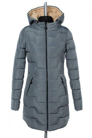 04-2474 Куртка демисезонная (синтепух 200) Плащевка серый