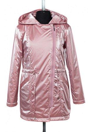 """04-2472 Куртка ветровка демисезонная """"University Action"""" (синтепон 60) Плащевка розовый"""