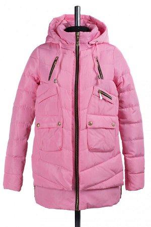 04-0721 Куртка демисезонная (синтепон 150) Плащевка розовый
