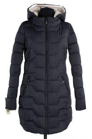 04-1306 Куртка демисезонная (синтепух 200) Плащевка черный