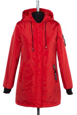 04-2461 Куртка демисезонная (синтепон 50) Плащевка красный