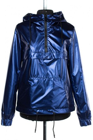 04-2455 Куртка демисезонная Плащевка синий