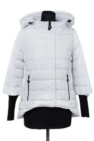 04-2447 Куртка демисезонная (Синтепух 150) Плащевка белый