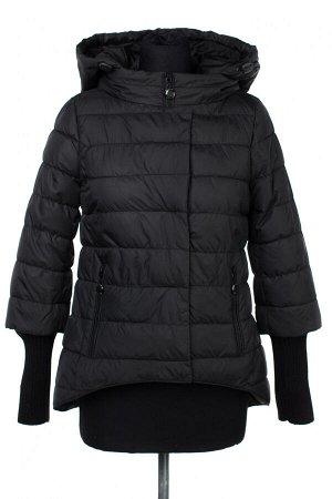 04-2446 Куртка демисезонная (Синтепух 150) Плащевка черный
