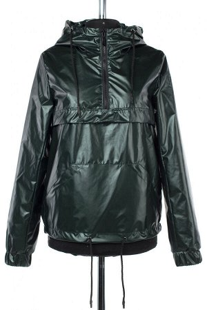 04-2443 Куртка демисезонная Плащевка темно-зеленый