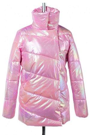 04-2441 Куртка демисезонная (синтепух 150) Плащевка розовый