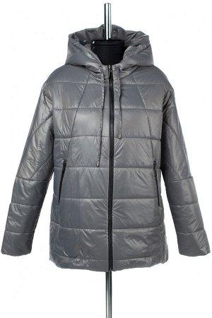 """04-2437 Куртка демисезонная """"University Action""""(Синтепон 150) Плащевка серый"""