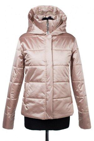 04-2420 Куртка демисезонная (синтепон 150) Плащевка розово-бежевый