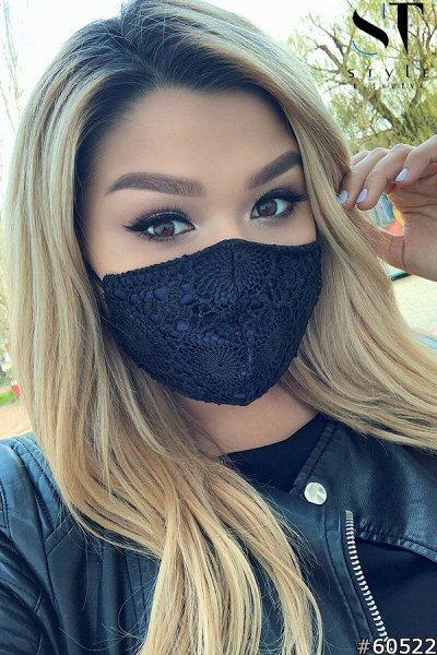 ST STYLE❄PLUS SIZE+++ Твоя весна 2021   — Дизайнерские маски для лица — Бахилы и маски