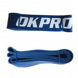 Резиновая петля тренировочная XL (6,4 см) OKPRO OK1925 синяя