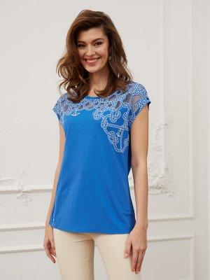 Фуфайка (футболка) жен BeGood SS20WJ147 Lady синий