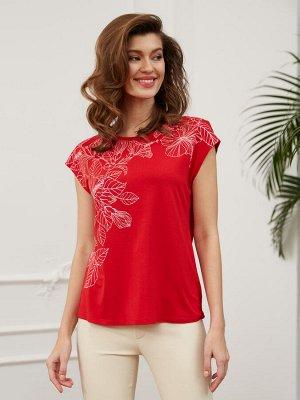Фуфайка (футболка) жен BeGood SS20WJ101 Lady красный