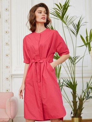 Платье жен BeGood SS20WW716А Etress малиновый