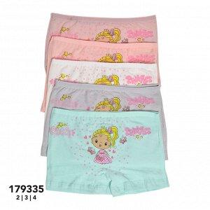 Трусы/ шорты для девочек (аппликация) 179335