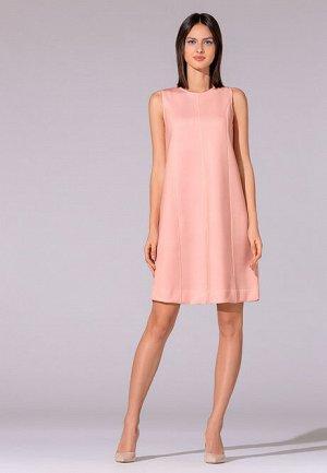 Платье из неопрена, цвет светло-розовый