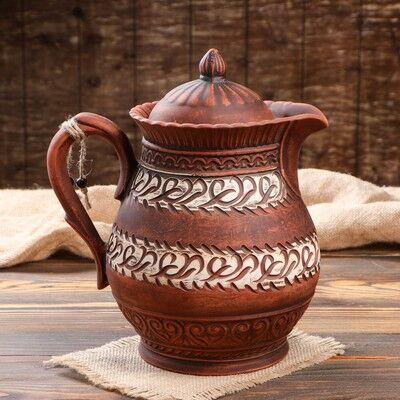 Много Глиняной Посуды  20. Полезно + Безопасно!  — Кувшины КРАСНАЯ ГЛИНА — Посуда для напитков