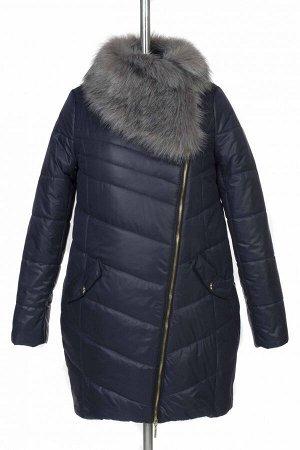 05-0570 Куртка зимняя Scandinavia (Синтепон 300) SALE Плащевка темно-синий