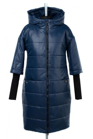 05-1756 Куртка зимняя (синтепон 300) Плащевка темно-синий