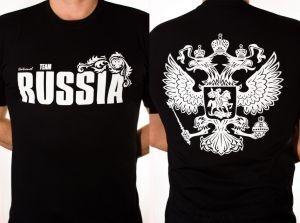 Футборка RUSSIA