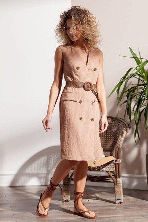 Стильное платье из вискозной ткани