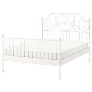 ЛЕЙРВИК Каркас кровати, белый 140x200 см
