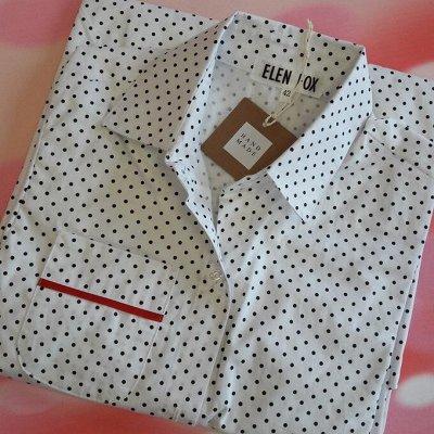 Твой гардероб с быстрой доставкой! — Скидка 20%!!! Стильные домашние рубашки от ELEN FOX — Рубашки