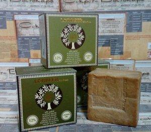 Традиционное алеппское мыло оливково-лавровое LORBEER Traditional Aleppo Soap 12% laurel oil