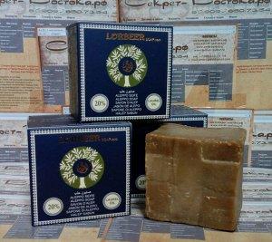 Традиционное алеппское мыло оливково-лавровое LORBEER Traditional Aleppo Soap 20% laurel oil