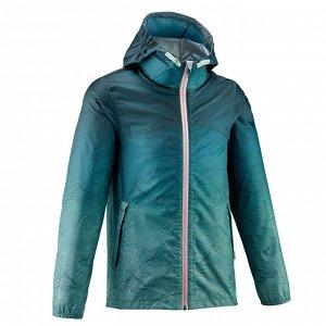 Куртка непромокаемая походная MH150 для детей 7–15 лет QUECHUA
