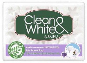 Мыло хоз. DURU Clean & White125г пр.пятен