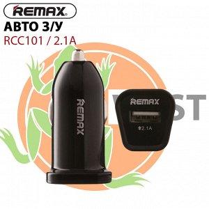 Автомобильное зарядное устройство Remax RCC101 2.1A