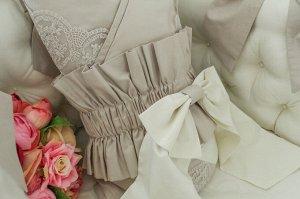 Бант на одеяло- конверт Vintage