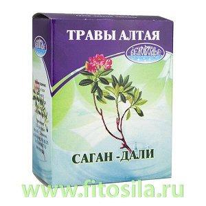 Саган дали (Рододендрон Адамса), 20 г (коробочка), чайный напиток