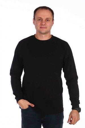 Мужская толстовка Однотонная, чёрная №4