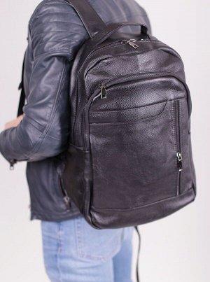 Рюкзак кожаный (унисекс, реальные фото)