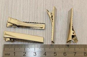 Зажим для волос металл 40мм, упак 97-103шт