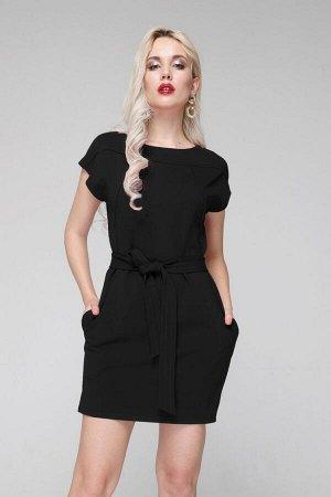 Платье 309/1 черный в Хабаровске