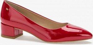 907007/04-03 красный иск.кожа лак женские туфли