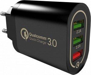 Сетевое зарядное устройство  QC3.0