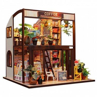 Кукольные домики и детская мебель, румбоксы и конструкторы   — Румбоксы со всеми атрибутами современного жилья — Для творчества
