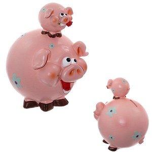 """Копилка """"Свинки"""", L17,5 W15 H22см"""